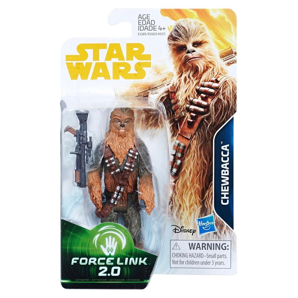 Star Wars Han Solo Force Link 2.0 Figur Chewbacca