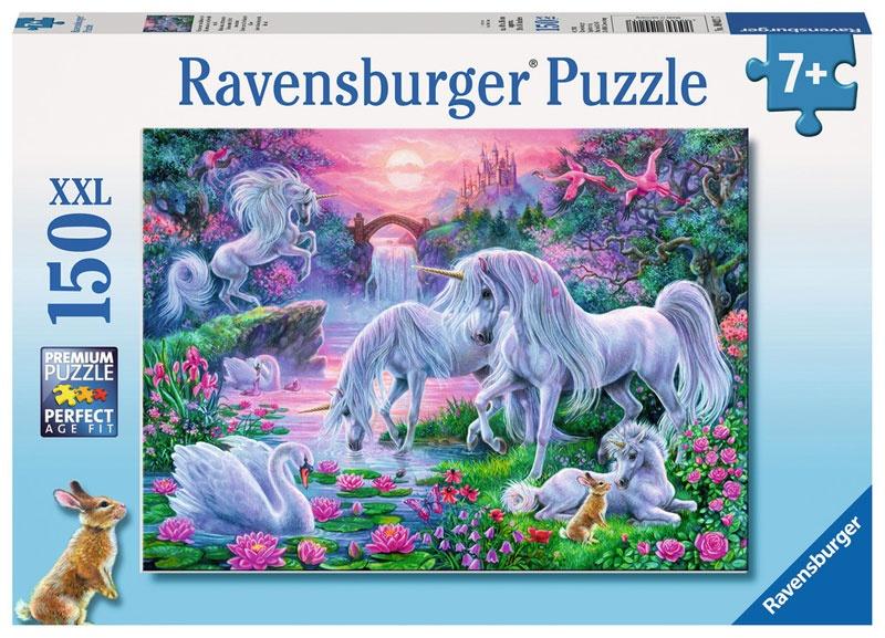 Ravensburger Puzzle Einhörner im Abendrot 150 Teile