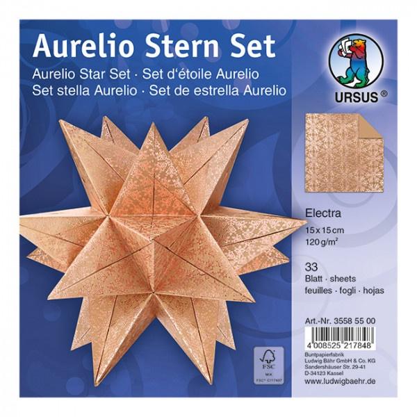 Faltbätter Aurelio Stern Electra 15 x 15 cm