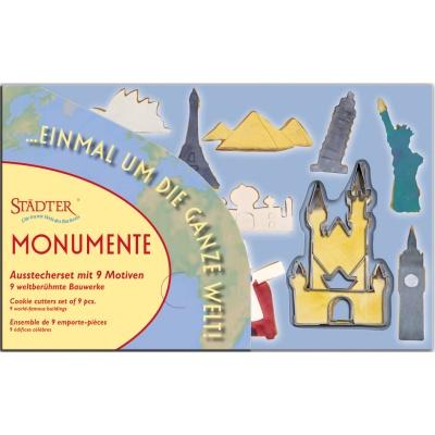 Ausstecher 9 Monumente
