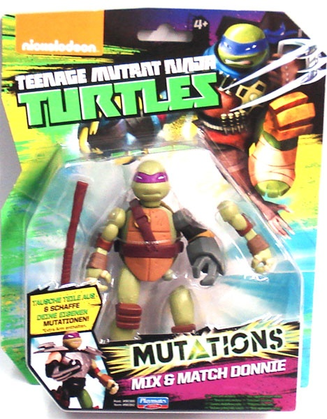 Turtles Mutations Mix Match Donnie
