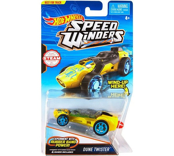 Hot Wheels Speed Winders CarTrack Dune-Twister