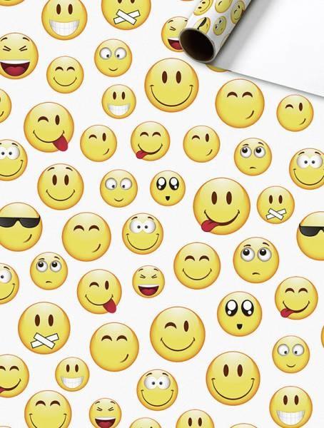 Geschenkpapier-Rolle Kai gelb 70 x 200 cm