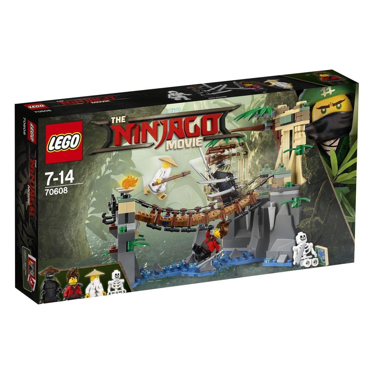 Lego Ninjago Movie 70608 Meister Wus Wasser-Fall