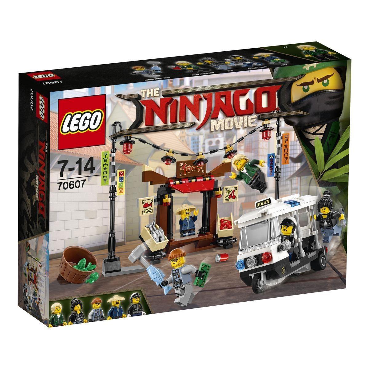 Lego Ninjago Movie 70607 Verfolgungsjagd in NINJAGO® City