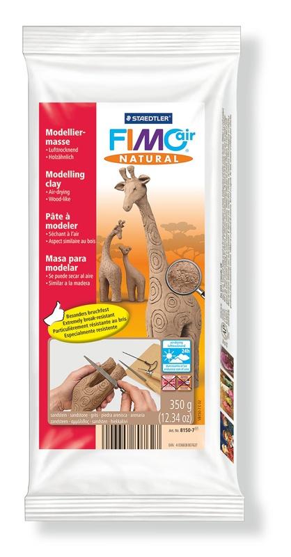 Staedtler Modelliermasse FimoAir natural 350 g sandstein