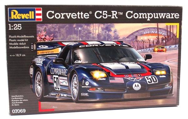 Revell 07069 Corvette C5-R Compuware 1:25