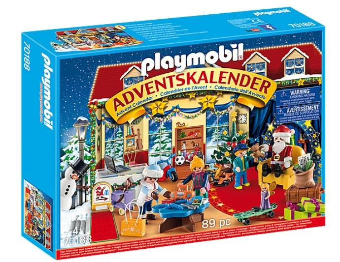 Playmobil 70188 Adventskalender Weihnachten im Spielwarenges