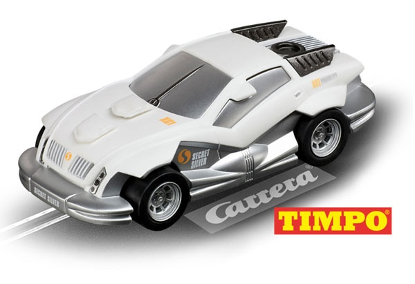 Carrera Go!!! CarForce Agent Secret Silver TIMPO®
