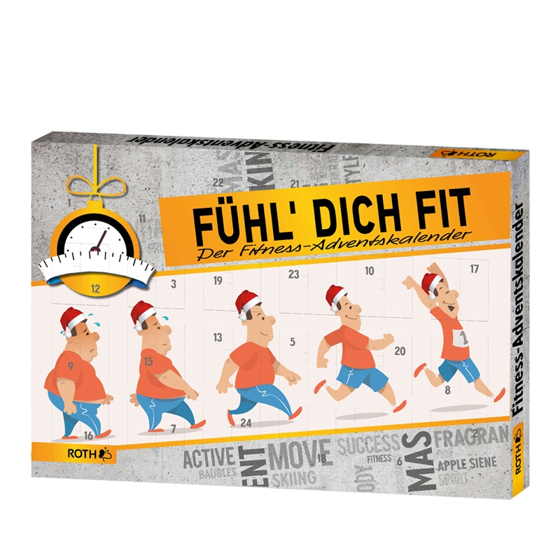 Roth Fitness-Adventskalender Fühl Dich fit