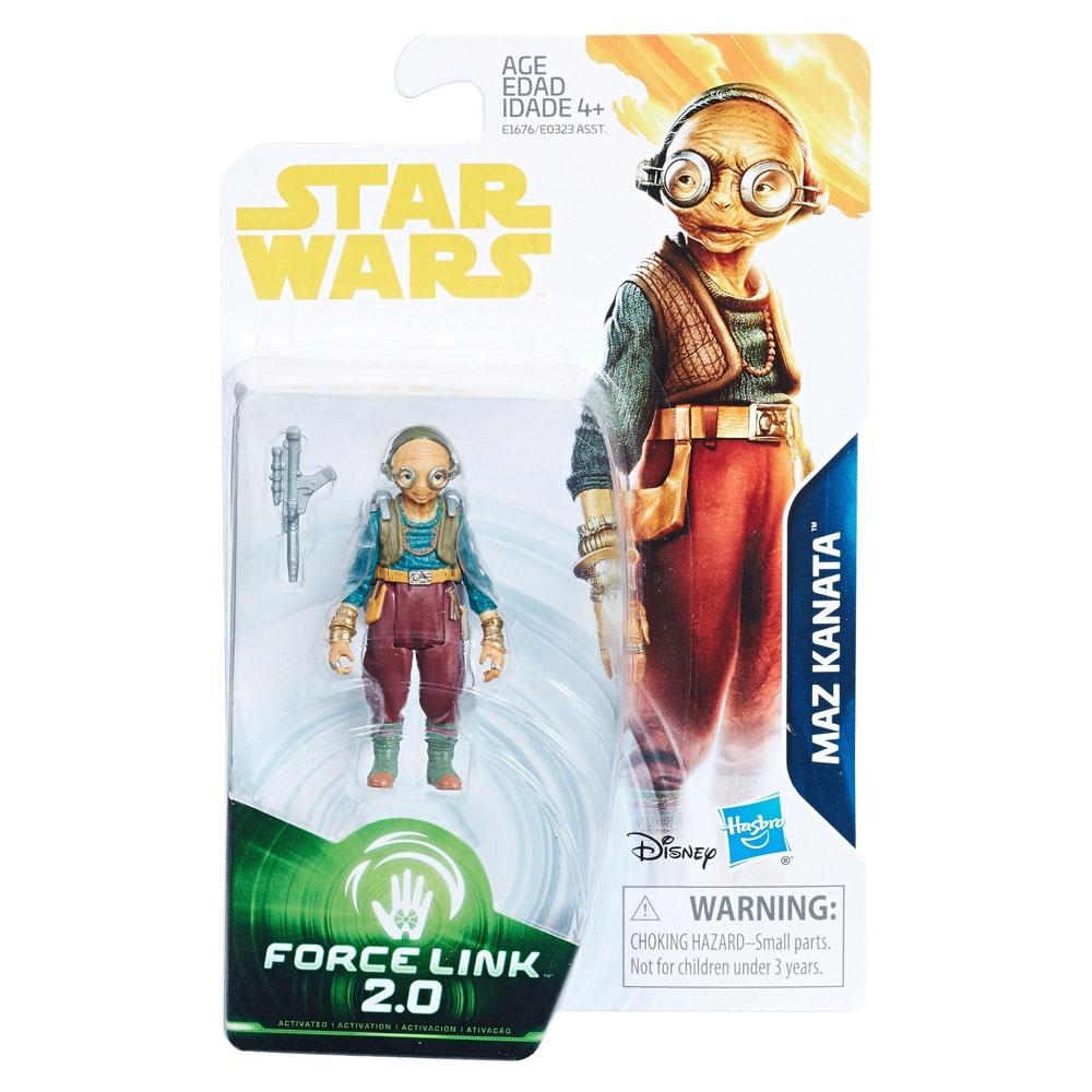 Star Wars Han Solo Force Link 2.0 Figur Maz Kanata