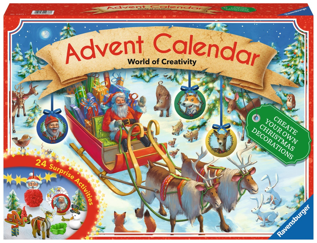 Ravensburger Adventskalender Do it Yourself