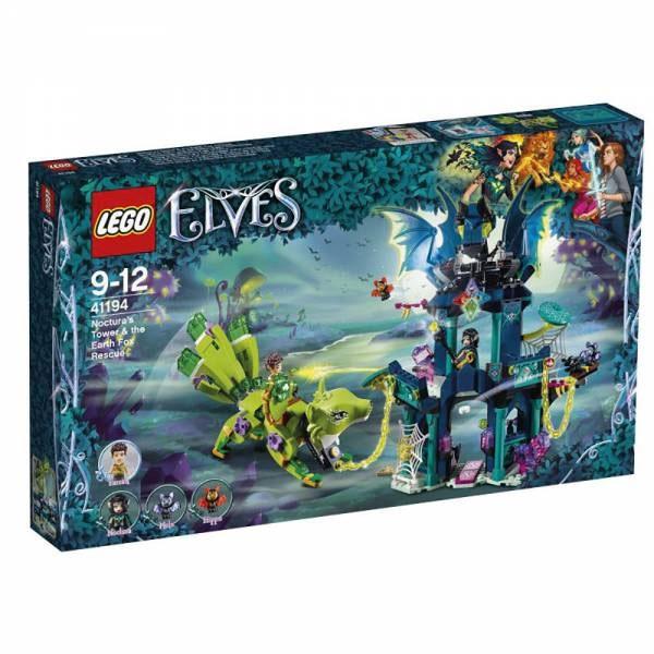Lego Elves 41194 Nocturas Turm und die Rettung des Erdfuchse