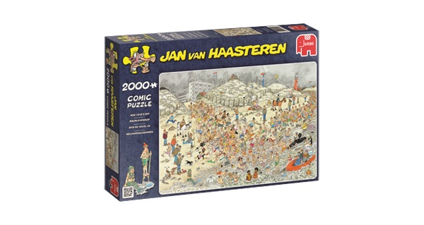 Puzzle Jan van Haasteren New Years Dip 2000 Teile