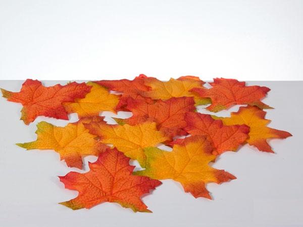 Dekoration Herbstblätter