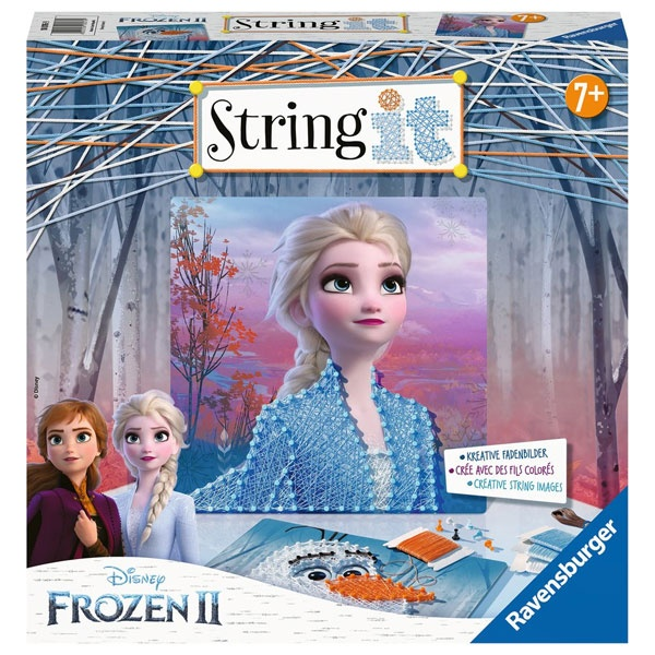 Frozen II String it Kreative Fadenbilder von Ravensburger