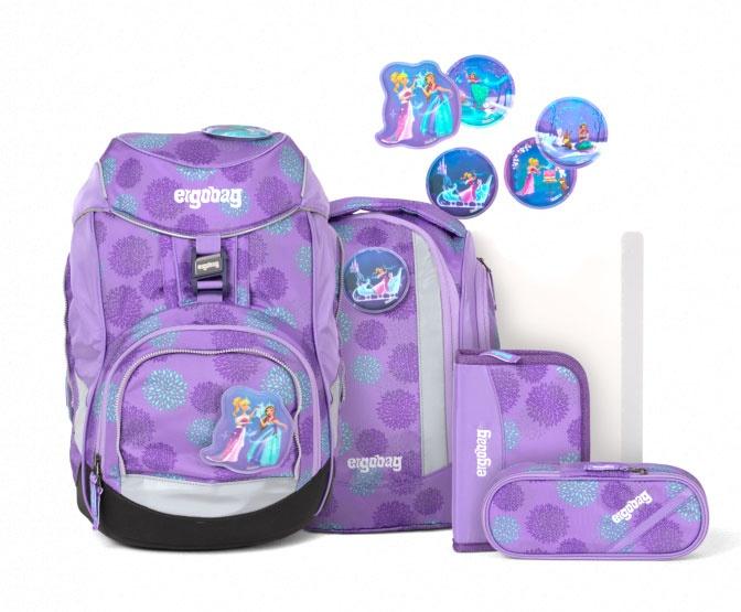 Ergobag Pack Schulrucksack-Set SchlittenzauBär Glow