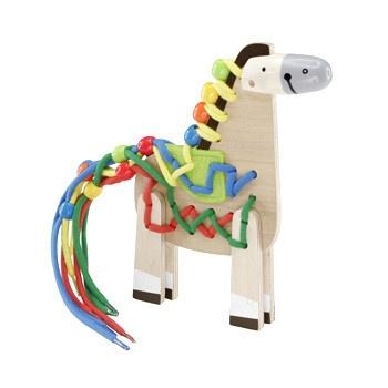Hape Fädelspiel Pony