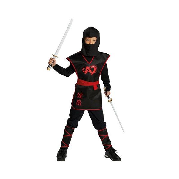 Kostüm Ninja Krieger 164