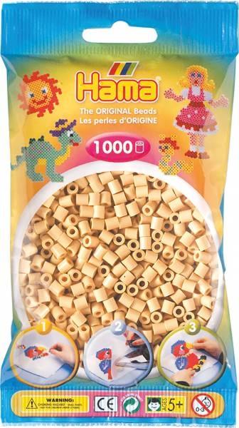 Hama Bügelperlen 1000 Stück beige