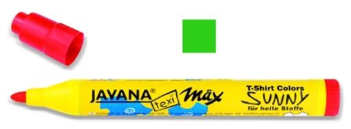 Kreul Javana texi mäx Sunny Stoffmalstift medium grün