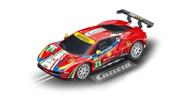 Carrera GO!!! Ferrari 488 GTE AF Corse No. 71 64114