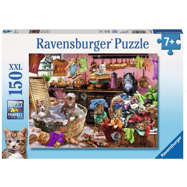 Puzzle Katzen in der Küche 150 Teile