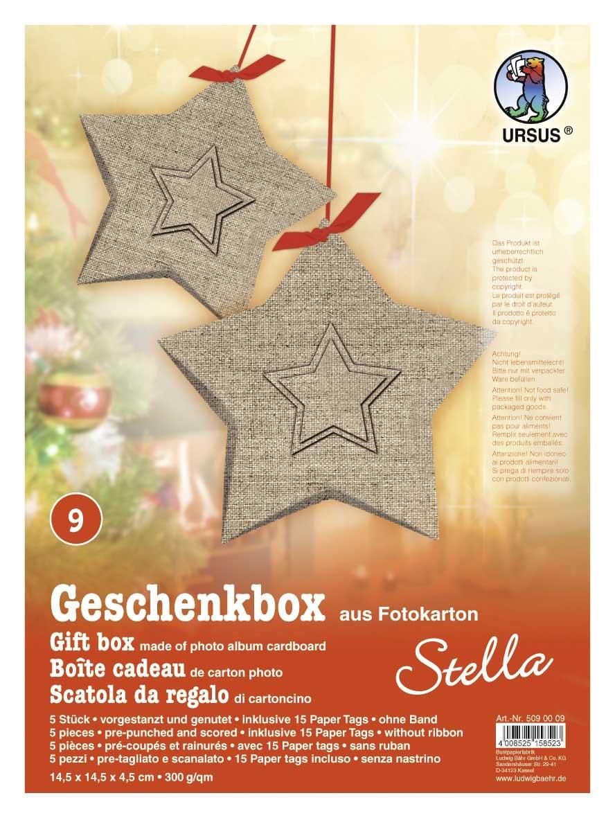 Bastelmappe Geschenkbox Stella Motiv 09