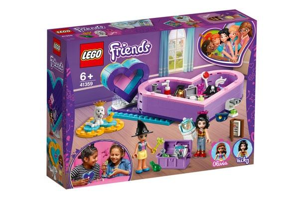 Lego Friends 41359 Herzbox-Freundschaftsset