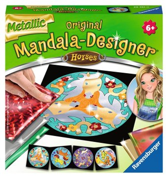 Ravensburger Mini Mandala metallic Horses