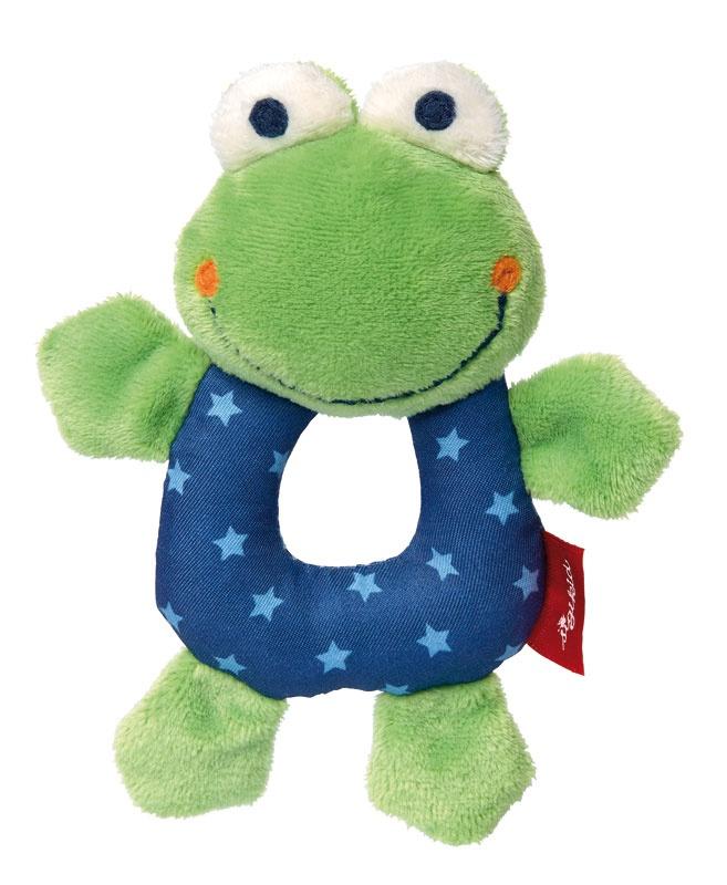 Sigikid Greifling Frosch Red Stars