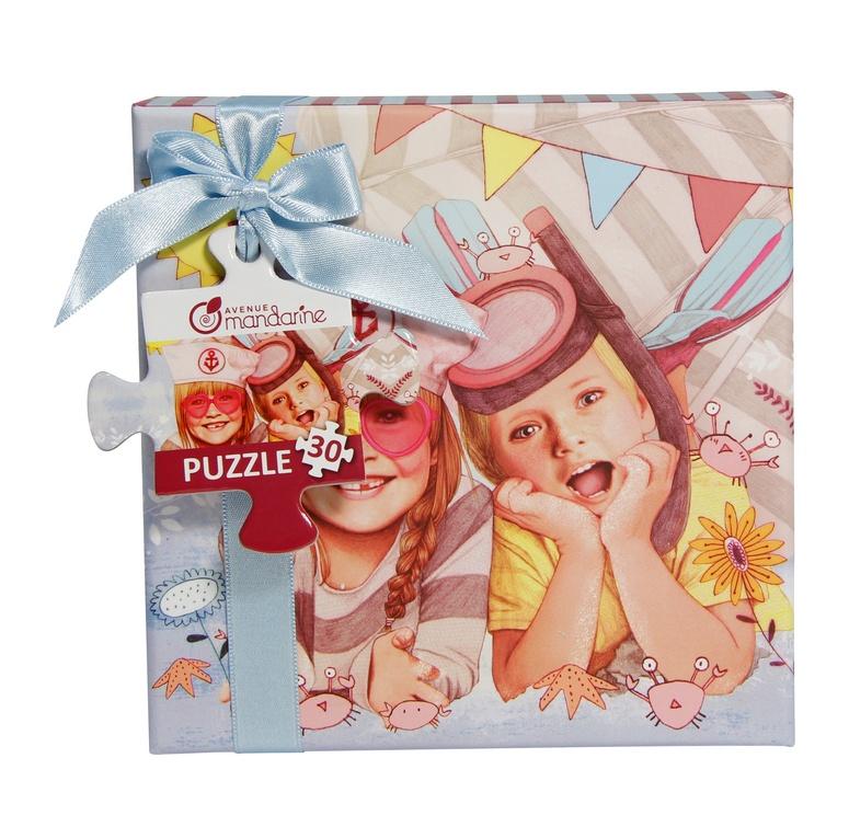 Avenue Mandarine Puzzlebox in Geschenkbox Sommer 30 Teile