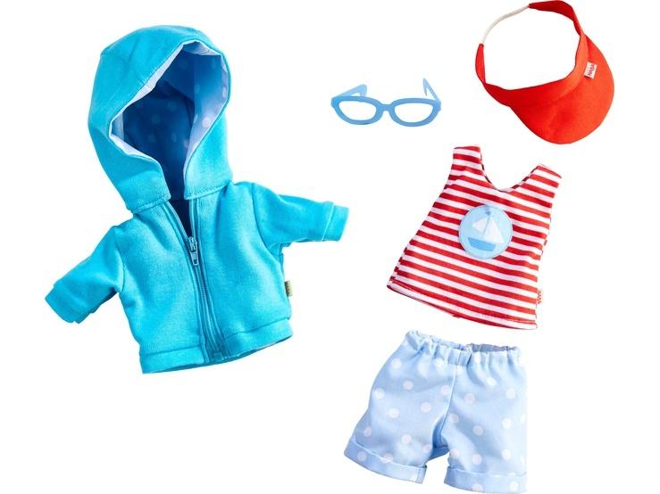 Haba Kleiderset Strandurlaub Puppenkleidung 30 cm