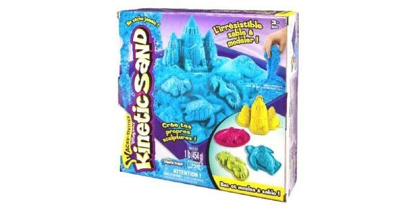 Kinetic Sand Box Set 454g blau