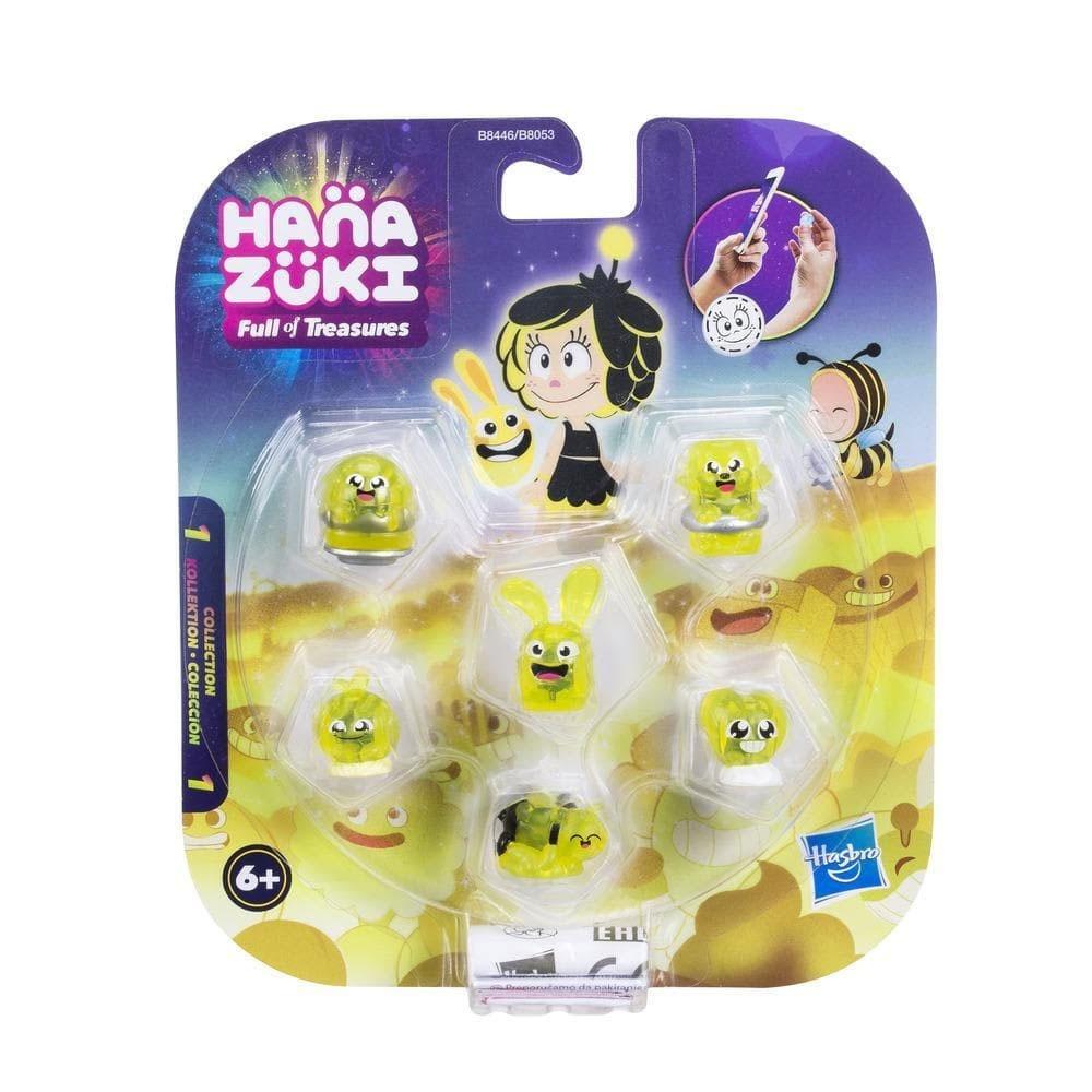 Hanazuki Sammelschätze 6er-Pack gelb