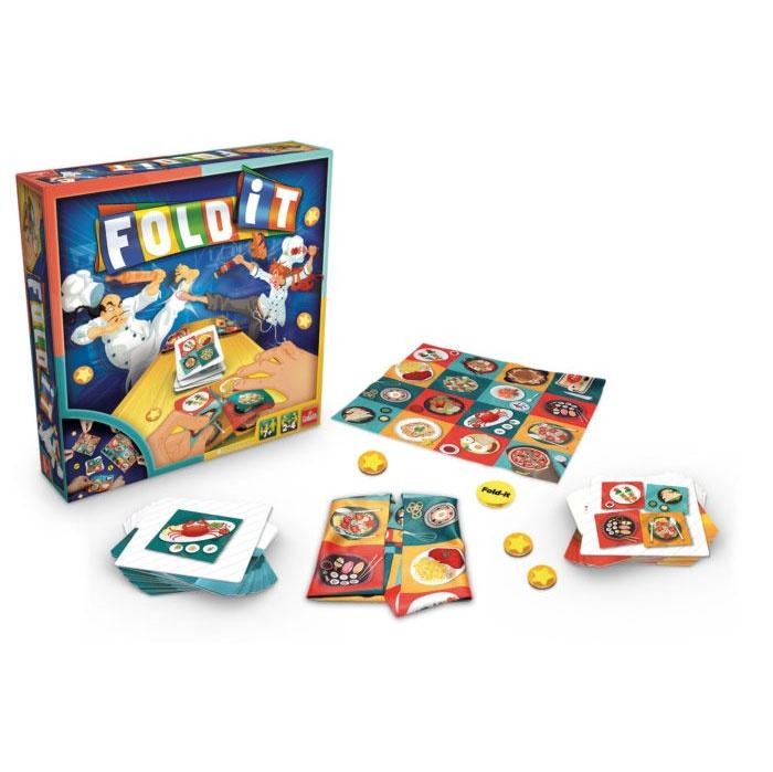 Fold it Spiel von Goliath