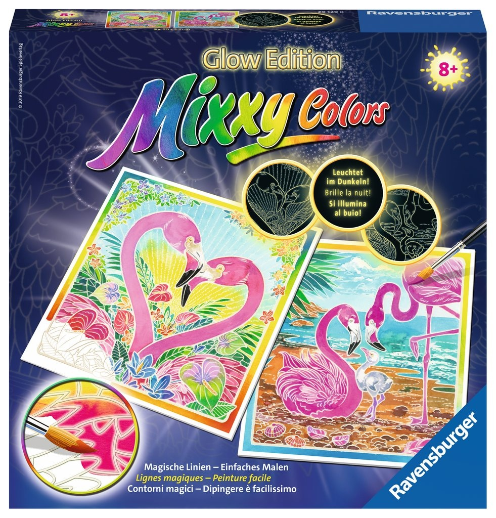 Ravensburger Mixxy Colors Traumhafte Flamingos