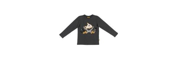 Capt´n Sharky - Shirt dunkelgrau Gr. M 104 116