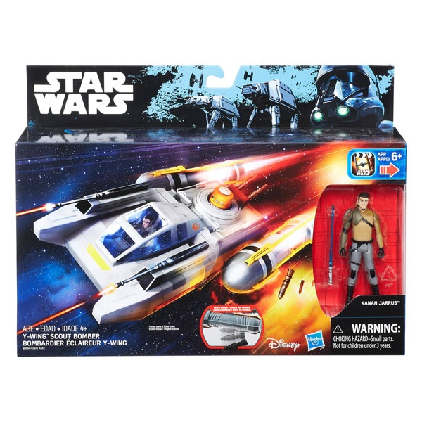 Star Wars Rogue One Class I Deluxe Fahrzeug Figur Y-Wing