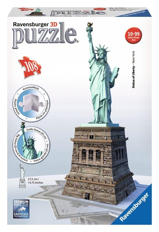 Ravensburger Puzzle 3D Freiheitsstatue