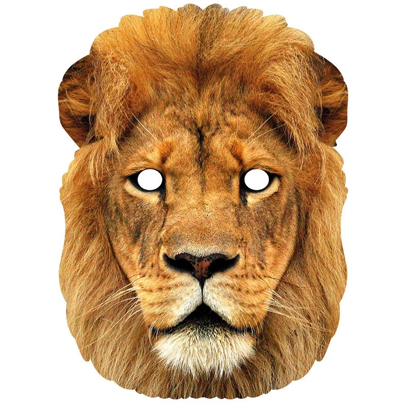 Lion Animal Face Mask