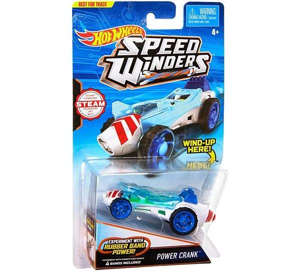 Hot Wheels Speed Winders CarTrack Power-Crank
