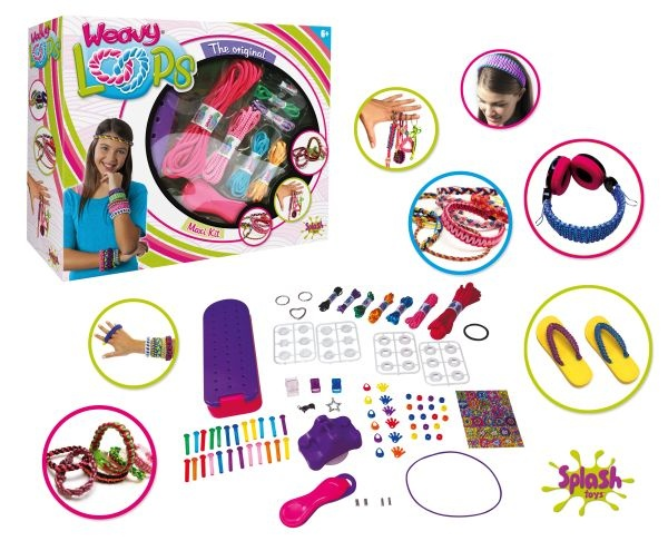 Weavy Loops Maxi Kit von Spash Toys