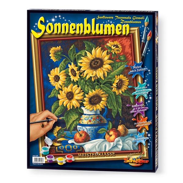 Schipper Malen nach Zahlen Stillleben mit Sonnenblume