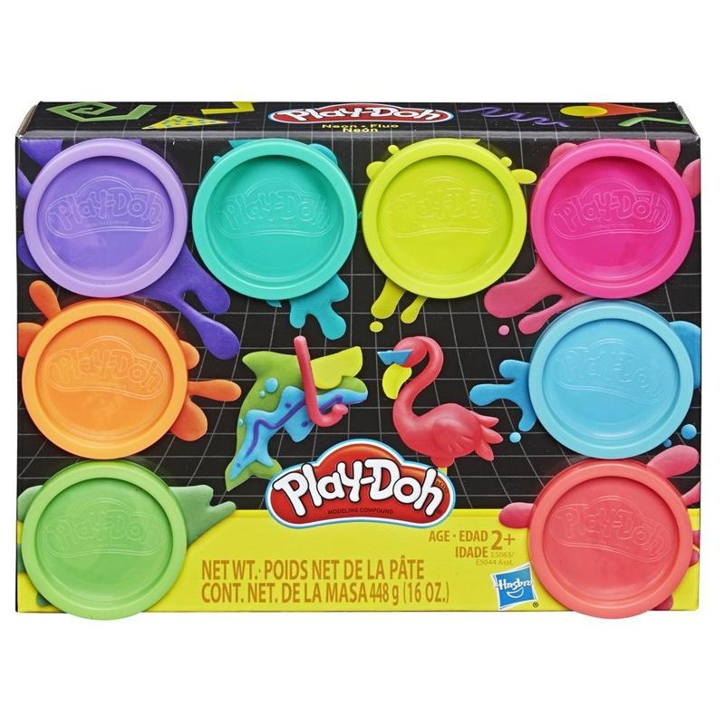 Play Doh 8er Pack Neonfarben
