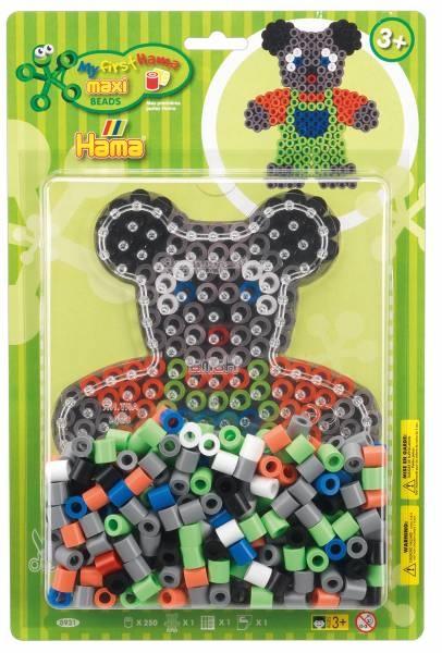 Hama Bügelperlen-Set Maxi Teddybär
