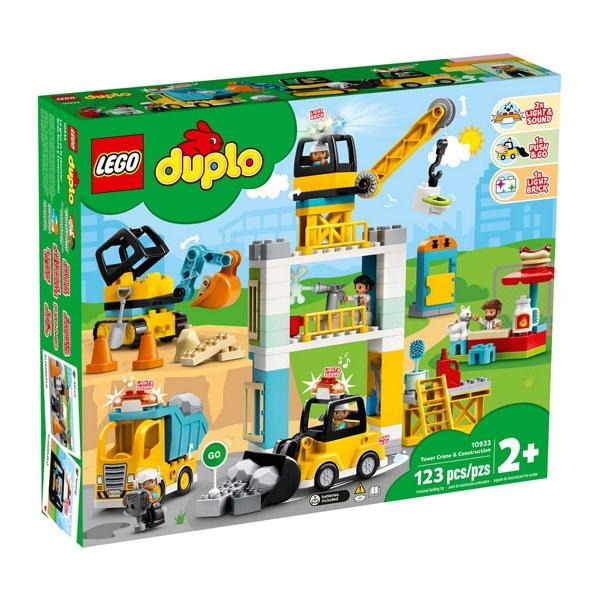 Lego Duplo 10933 Große Baustelle mit Licht und Ton