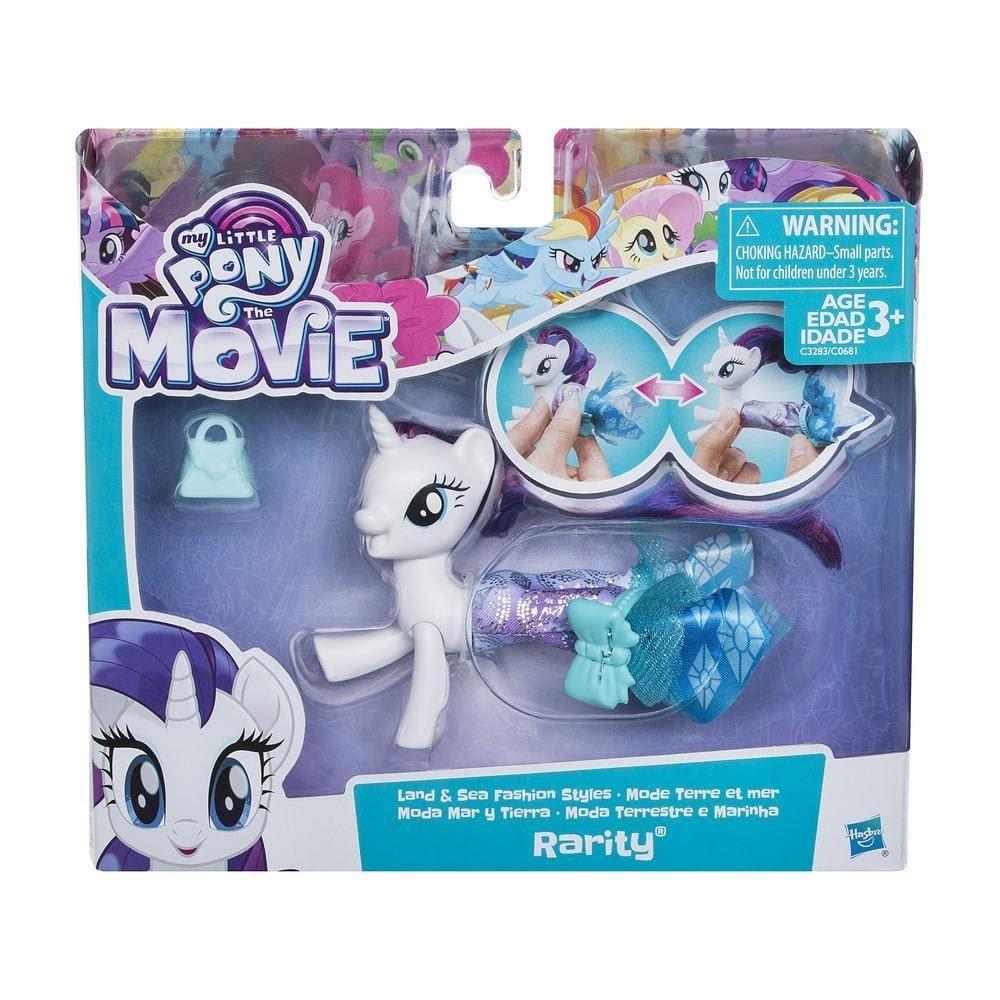 My little Pony Movie Land- und Seepony Modespaß Rarity