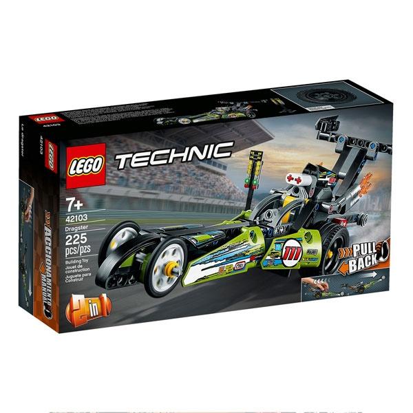 Lego Technic 42103 Dragster Rennauto