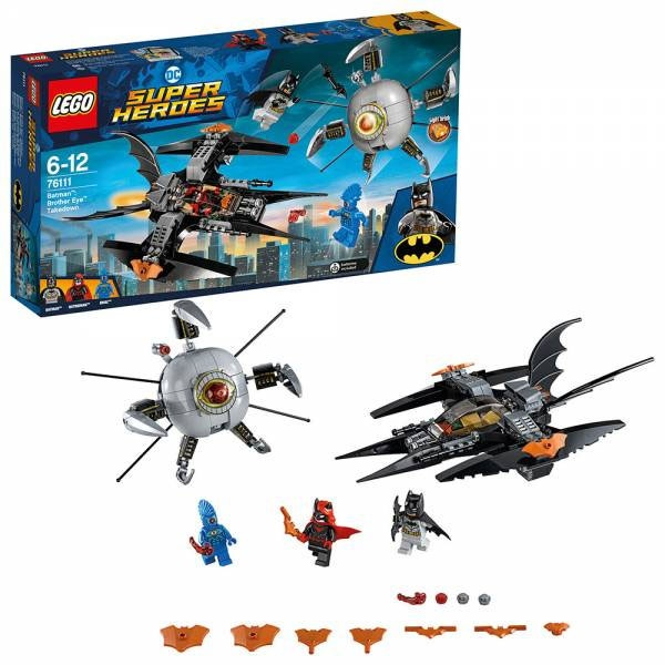 Lego Batman 76111 Brother Eye Gefangennahme